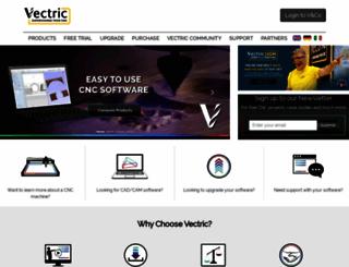 vectric.com screenshot
