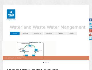 vedaaqua.com screenshot