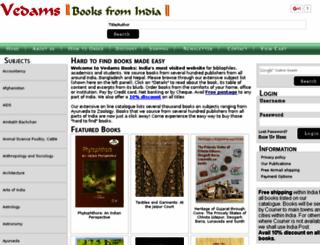 vedamsbooks.in screenshot