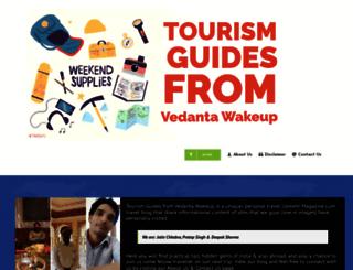vedantawakeup.com screenshot