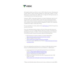 vedc.org screenshot