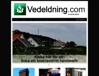 vedeldning.com screenshot