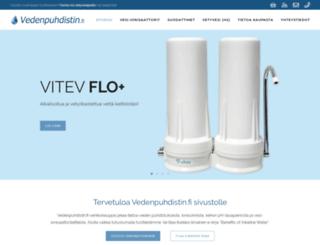 vedenpuhdistin.fi screenshot