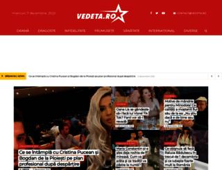 vedeta.ro screenshot