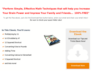 vedic-maths-ebook.com screenshot