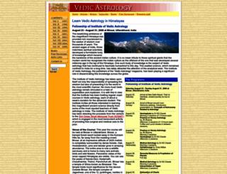 vedicastro.com screenshot