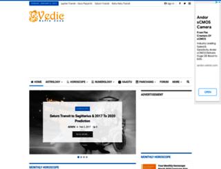 vedicastrozone.com screenshot