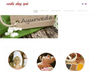 vedicdayspa.com screenshot