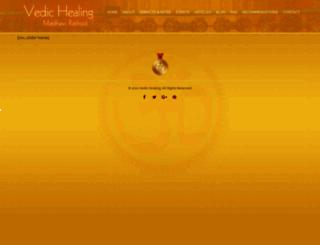 vedichealing.com screenshot