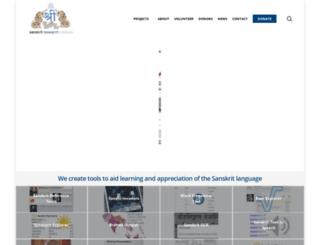 vedicsociety.org screenshot