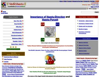 vedicvaastu.com screenshot