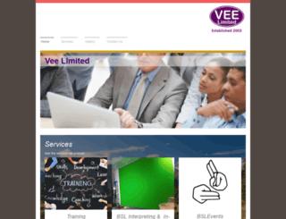 vee.ltd.uk screenshot