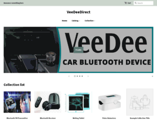 veedeedirect.com screenshot
