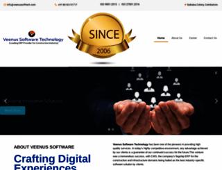 veenussofttech.com screenshot