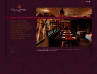 veeraswamy.com screenshot