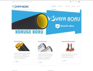 vefaboru.com screenshot