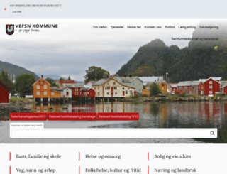 vefsn.kommune.no screenshot