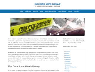 vega-texas.crimescenecleanupservices.com screenshot