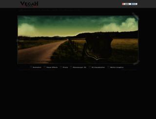 vegahstudios.com screenshot