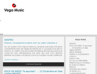 vegamusic.es screenshot