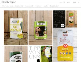 vegan-paleo.com screenshot