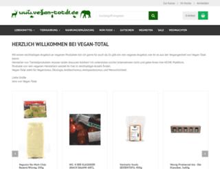 vegan-total.de screenshot