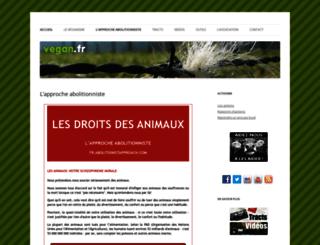 vegan.fr screenshot
