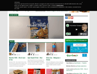 veganblog.it screenshot