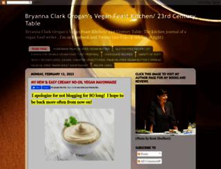 veganfeastkitchen.blogspot.com screenshot