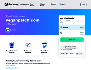 veganpatch.com screenshot
