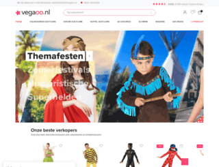 vegaoo.nl screenshot