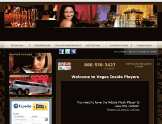 vegasinsideplayers.com screenshot