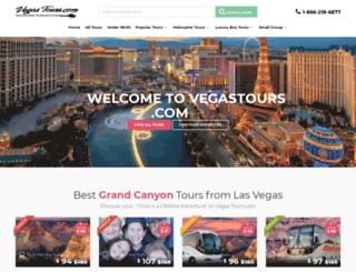 vegastours.com screenshot