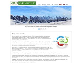 vege-office.de screenshot