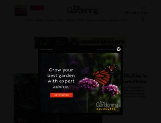 vegetablegardener.com screenshot