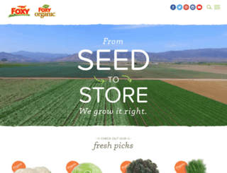 vegetables.com screenshot