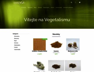 vegetalismus.cz screenshot