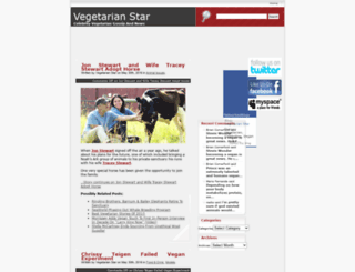 vegetarianstar.com screenshot