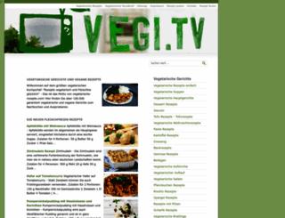 vegetarische-rezepte.com screenshot