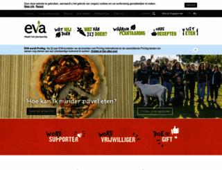 vegetarisme.be screenshot