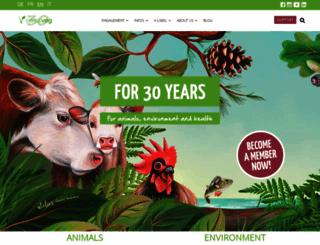 vegetarismus.ch screenshot
