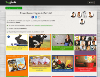 vegfacile.info screenshot