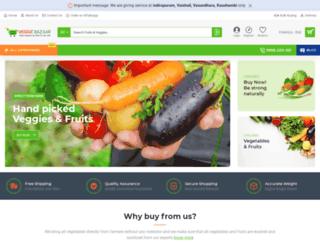 veggiebazaar.com screenshot