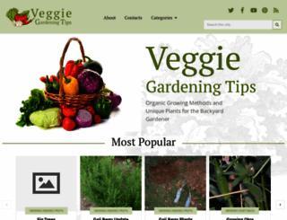 veggiegardeningtips.com screenshot