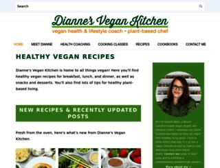veggiegirl.com screenshot