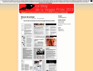 veggiepride2013.unblog.fr screenshot