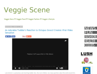 veggiescene.com screenshot
