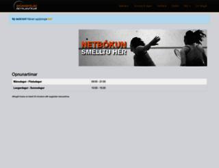 veggsport.is screenshot