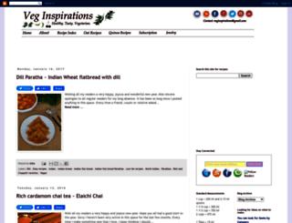 veginspirations.com screenshot