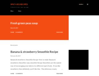 vegrecipesfrommykitchen.blogspot.in screenshot
